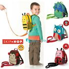 SKIP HOP ZOO LET MINI CHILDREN'S BACKPACK KIDS TODDLERS BAG WITH REINS
