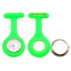 NEW Silicone Nurse Fob Watch Brooch Pin Tunic With Free Battery Doctor Medical