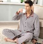 Discount Cotton 2PCs Male's Casual Clothes Sleepwear/ Pajama Sets L/XL/2XL/3XL