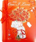 """Me To you Tatty Teddy """"TO THE ONE I LOVE"""" Large Birthday Card"""
