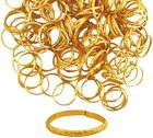 Gold Coloured Rings Wedding, Party Favour, Table Card decoration / accessory