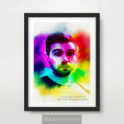 Vegetta777 Portrait Painting Art Print Poster A4 A3 A2 Youtube Artwork Celebrity