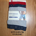 Lucky Brand,Men's Underwear, Stretch Boxer Briefs.(3 PACK).NEW IN PACK