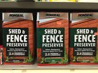 Ronseal preserver 4 x 5ltr cans (Shed and fence)