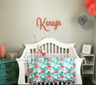 Connected Wooden Wall Name - Medium, 15