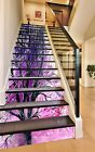 3D Branches Black Stair Risers Decoration Photo Mural Vinyl Decal Wallpaper US