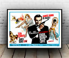 James Bond is back :  Vintage  007 Movie advertising ,  Poster reproduction. £10.99 GBP on eBay