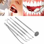 Professional Dental Plaque Remover Tooth Scraper Mouth Mirror Probe Scaler Tools