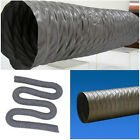 """8"""" Flexible Duct Hose 8 inch PVC DUCTING Air HOSE 35ft EXHAUST AIR VENT Fan Pipe"""
