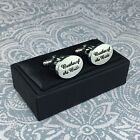 Beautiful Wedding Cufflinks BROTHER OF THE BRIDE Gift Boxed Stunning Present