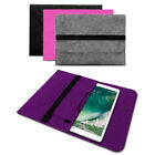 Sleeve Hülle für Apple iPad Pro 10.5 Tasche Filz Notebook Cover Laptop Case Grau