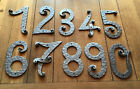Hand Forged House Numbers and Letters Height 8.4 inch 21cm Wrought Iron