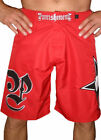 Punishment Submitter MMA Shorts - Red - [MMA UFC, Fight Shorts]