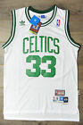 Larry Bird 33 Boston Celtics Jersey Swingman Classics Retro New Mens White