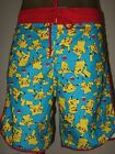 New Men's Pokemon Pikachu Anime Game Character Beach Swim Trunks Board Shorts