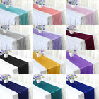 """5 10 20 Wedding Party Satin Table Runner Banquet Dinner Party Tablecloth 12x108"""""""