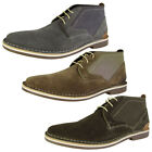 Steve Madden Mens Hotshot Lace Up Suede Chukka Boot Shoes