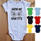 SHOW ME YOUR TT'S Baby Infant Bodysuit One Piece Shirt Twin Turbo Car JDM Drift