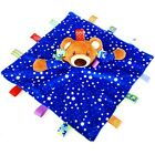 0-18Month Baby Infant Boys Girls Colorful Security Blanket Cloth Comforter Toy