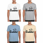 mens t shirt MARENO short sleeved novelty the grandfather print gift top new