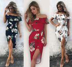 Women SALE Boho Fashion Floral Beach Dress Evening Cocktail Long Maxi Dress