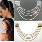 Hair Accessories Silver Gold Chain Tassels Headbands Hair Co