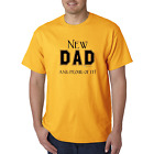 Bayside Made USA T-shirt New Dad Father And Proud Of It.  Daddy