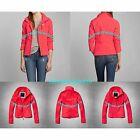 NWT ABERCROMBIE & FITCH WOMENS ACTIVE SOFT SHELL JACKET SIZE SMALL A&F