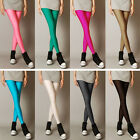 Women Skinny Leggings Stretchy Pencil Pants Casual Trousers Plus Size S M L XL
