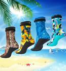 Diving Spearfishing Camouflage Camo 3mm Neoprene Fin Socks Wetsuit Booties