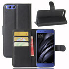"""Flip Magnetic Leather Card Holder Stand Cases Covers For Xiaomi Mi 6 5.15"""" Lot"""
