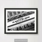 JAMES BOND THE WORLD IS NOT ENOUGH Art Print Poster Cinema Sign Marquee Pierce £8.99 GBP