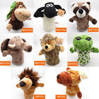 Story Learning Baby Kid Soft Zoo Plush Toy Animal Hand Glove Puppets Doll