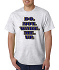 Bayside Made USA T-shirt Do Not Wake Me Up Funny Sleep In Shirt