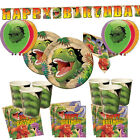 Dinosaur T Rex Birthday Party Plates Cups Napkins Decorations Balloons