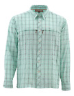 Simms Stone Cold LS Shirt - Mint Plaid
