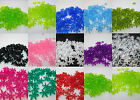 200 - 18mm Plastic Starflake / Paddlewheel Beads Made in USA - Color Choice