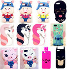 Child Gift 3D Cartoon Soft Silicone Rubber Case Cover Skin For iPhone Samsung S8