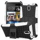 Shockproof Rugged Slim Armor Defender HTC Desire 610 Kick Stand Case Cover USA