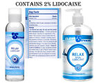CLEANSTREAM Relax Desensitizing Anal Lube 2% Lidocaine Available in 4 oz & 17 oz
