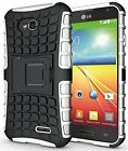 LG Optimus L70 MS323 D321 Exceed 2 Realm LS620 Pulse Ultimate 2 Stand Case Cover
