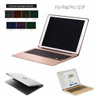 """7 Colors Backlit Aluminum Bluetooth Keyboard Well-groomed Case For iPad Pro 12.9"""" US"""