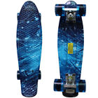 "Rimable 22"" Retro Mini Cruiser Skateboard Penny Style Graphic Board"