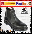 New Redback Work Boots Easy Escape Steel Toe Black Rambler USBBL With Box