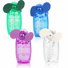 NEW MINI PORTABLE POCKET FAN COOL AIR HAND HELD BATTERY TRAVEL BLOWER 4 COOLER