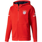 adidas Bayern Munich FC 2017 - 2018 Limited Edt UCL ZNE Hooded Jacket Red