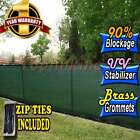 Free Zip Ties Privacy Screen Fence Windscreen Outdoor 4' 5' 6' 8' 50' Mesh Shade