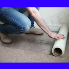 CARPET PROTECTION PROTECTOR FILM SELF ADHESIVE 60cm x 25m,50m & 100FAST DELIVERY