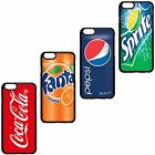SOFT DRINKS COCA COLA PEPSI SPRITE FANTA COVER CASE FOR APPLE IPHONE. $10.41  on eBay