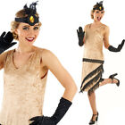 20s Charleston Girl Costume Fancy Dress Quality S M L 8-18 Small Large Fun Shack